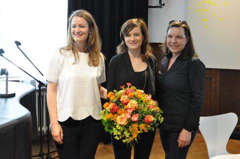 Nicole Ackermann (WIFT), Lena Schömann (Constantin), Satu Siegemund (WIFT)