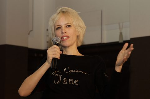 Moderatorin Katja Eichinger