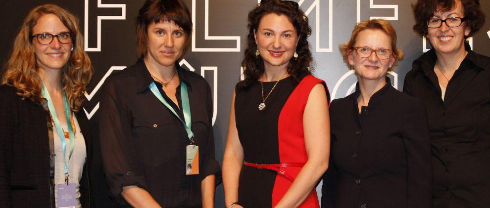 WIFT Podiumsdiskussion beim Filmfest I München
