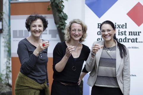 Annetraut Lutz-Weicken (WIFT), Yvonne Olberding (NDR) und Julia Dordel (WIFT)