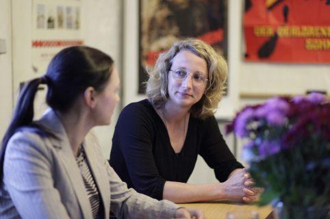 Julia Dordel (WIFT) im Gespräch mit Yvonne Olberding (NDR)