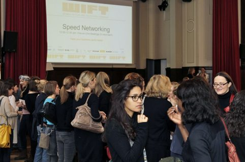 Speed-Networking beim WIFT Germany Berlinale-Event 2017