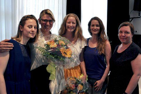 Anouk van Ghemen (WIFT), Dorothee Pfistner (Neue Visionen), Irina Ignatiew-Lemke (Boxworks), Nicole Ackermann (WIFT), Satu Siegemund (WIFT)