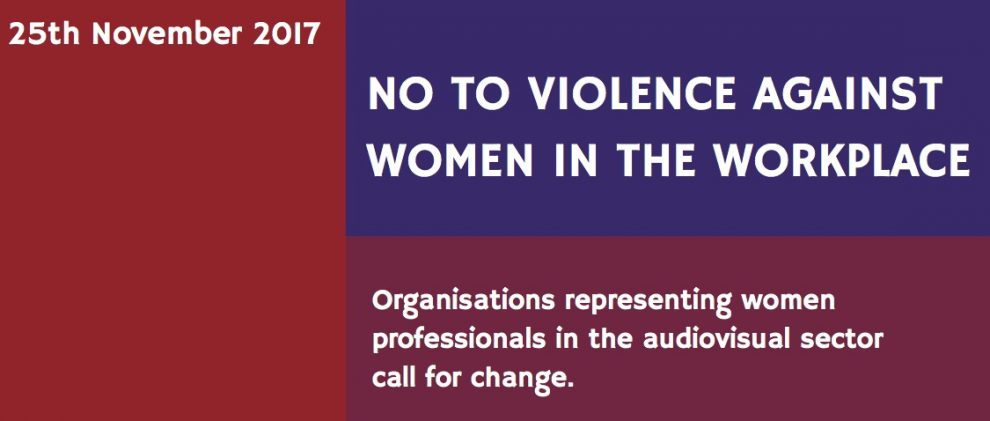International Call for Change: No to Violence against Women in the Workplace