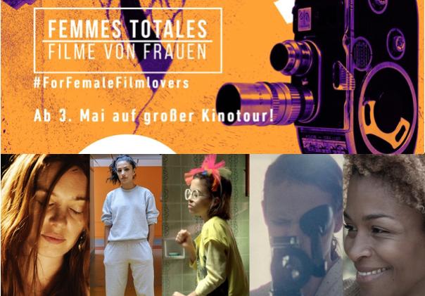 Femmes Totales 2 – Filme von Frauen. Kinotour ab 3. Mai
