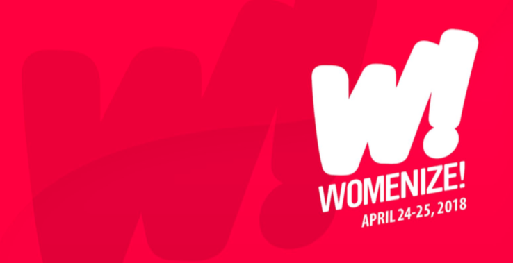 WIFT – Veranstaltungstipp: Womenize (am 24. & 25. April)
